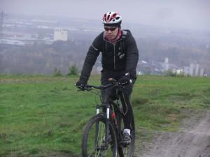Mountainbiken auf dem Deusenberg.